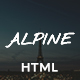 Alpine - Bed and Breakfast One Page Template Nulled