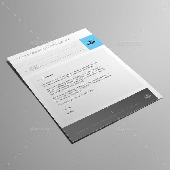 promotion request letter