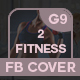 Fitness Facebook Cover - GraphicRiver Item for Sale