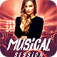 Musical Session Flyer - GraphicRiver Item for Sale