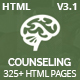 Counseling - Best Psychology & Counseling HTML5 Template Nulled