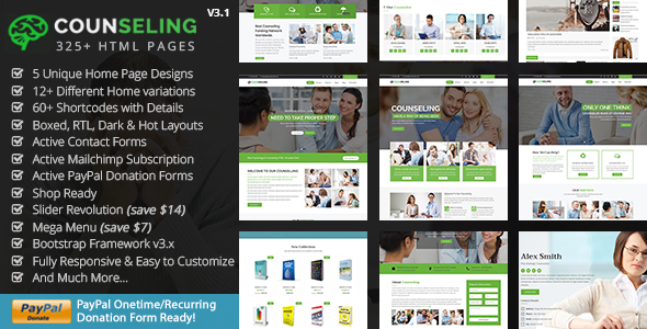 Counseling - Best Psychology & Counseling HTML5 Template - Health & Beauty Retail
