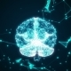 Human Brain Being Formed By Revolving Particles. - VideoHive Item for Sale