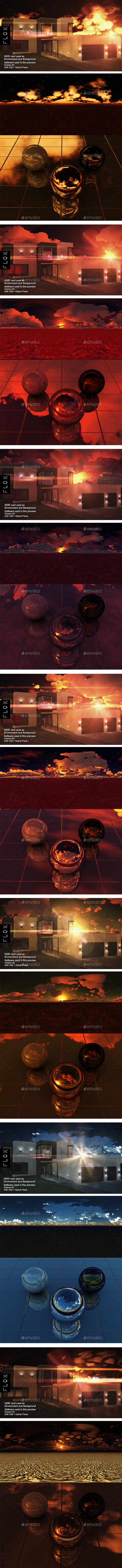 HDRI Pack - Desert vol 23 - 3DOcean Item for Sale
