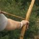 Man Shoots an Arrow