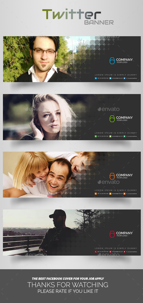 GraphicRiver Twitter Timeline Cover 20306311