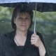 Sad Woman Under Umbrella - VideoHive Item for Sale