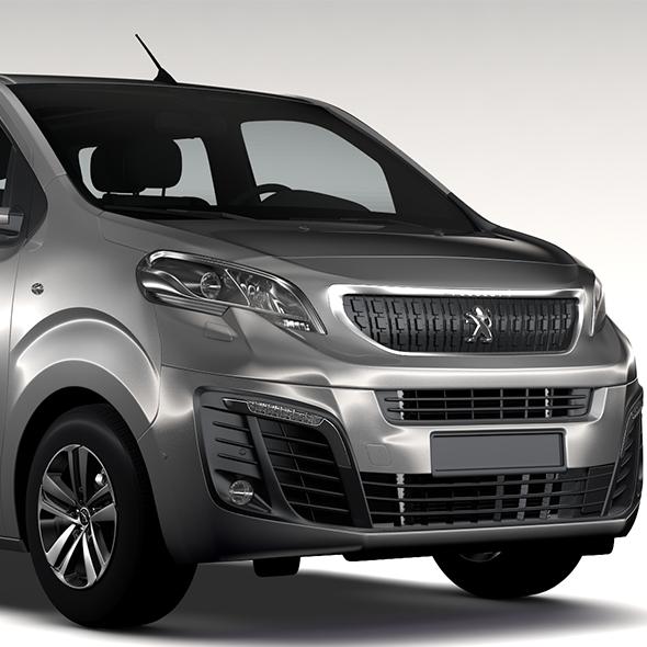 Peugeot Traveller L3 2017 - 3DOcean Item for Sale