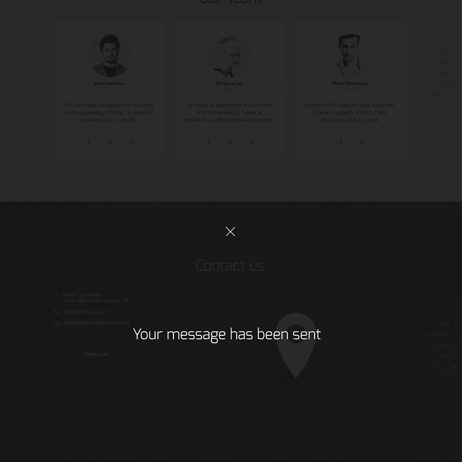 Aquila - Premium Coming Soon HTML Template, MailChimp-Ready with ...