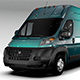 Ram Promaster Cargo 3500 H3 159WB EXT 2016