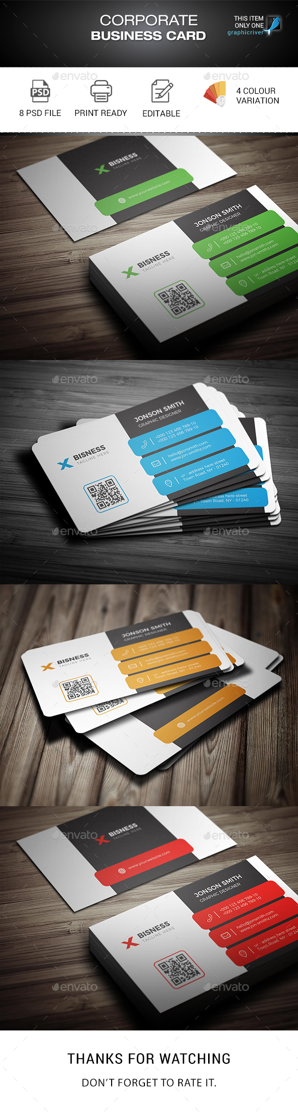 GraphicRiver Business Card 20306815