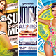 Summer Flyer Bundle - GraphicRiver Item for Sale