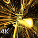 Beautiful Movement Gold Particles Background Nulled