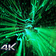 Beautiful Movement Green Particles Background Nulled