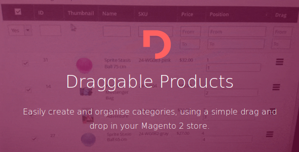 CodeCanyon Magento 2 Draggable Products 20306921