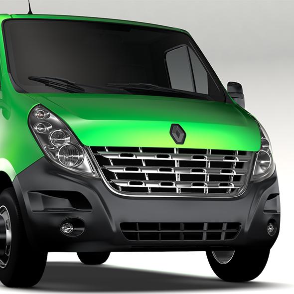 Renault Mater L1H1 Van 2010 - 3DOcean Item for Sale