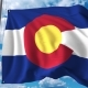 Waving Flag of Colorado
