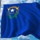 Waving Flag of Nevada