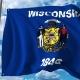 Waving Flag of Wiskonsin