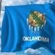 Waving Flag of Oklahoma