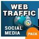Web Traffic Social Media Pack