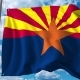 Waving Flag of Arizona