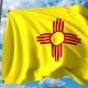 Waving Flag of New Mexico