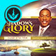Shadows of His Glory CD Artwork Template