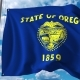 Waving Flag of Oregon