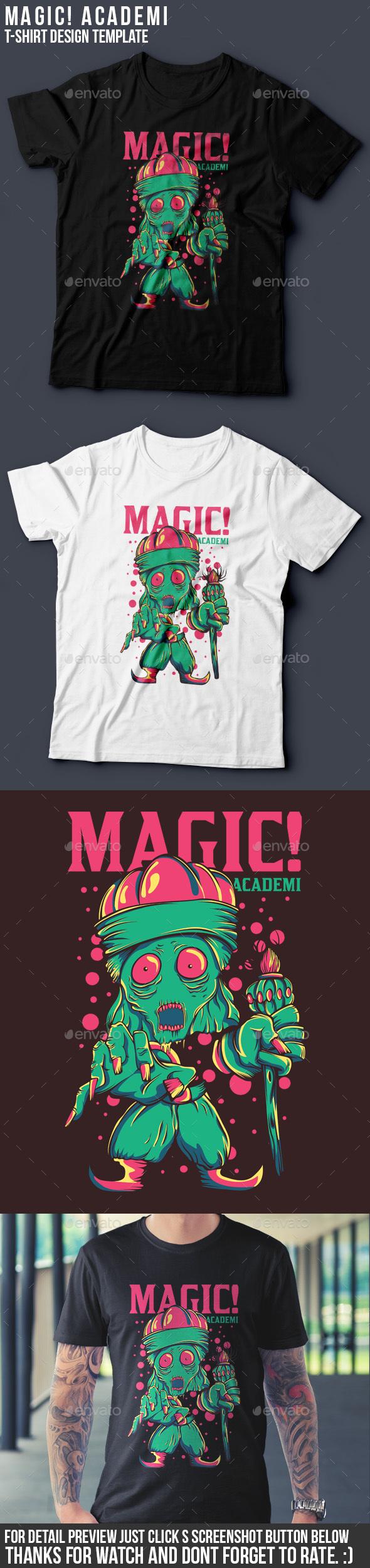 Magic! Akademi - Funny Designs