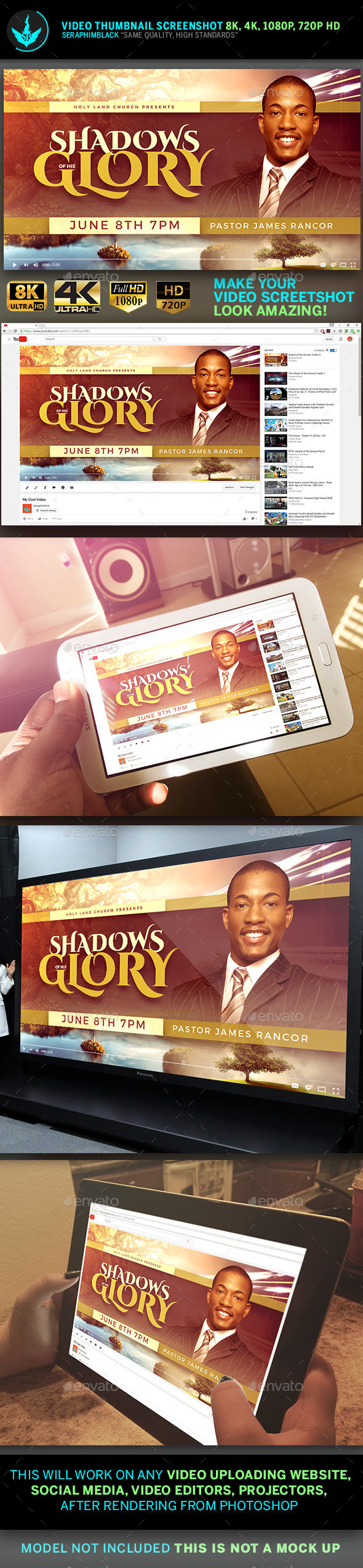 Shadows of His Glory Video Thumbnail Screenshot Template