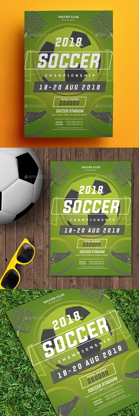 Soccer Championship Flyer - Sports Events