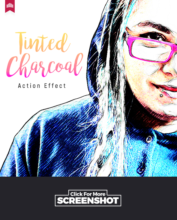 Tinted Charcoal - Action - Photo Effects Actions
