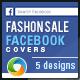 Fashion Sale Facebook Covers - 5 Designs