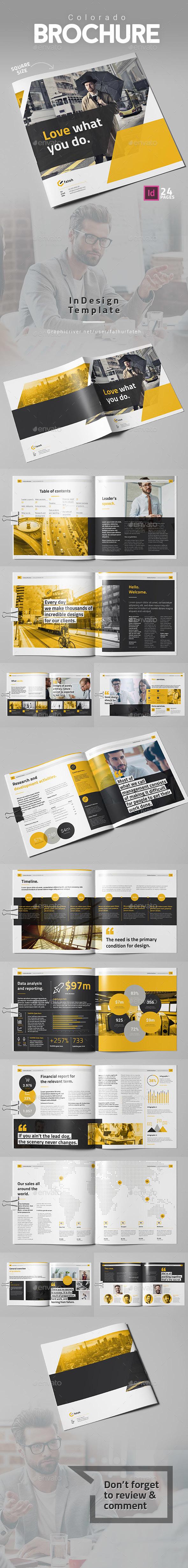 Colorado Brochure Square - Corporate Brochures