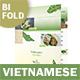 Vietnamese Pho Bifold / Halffold Menu 3