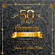 Golden Anniversary Invitation - GraphicRiver Item for Sale