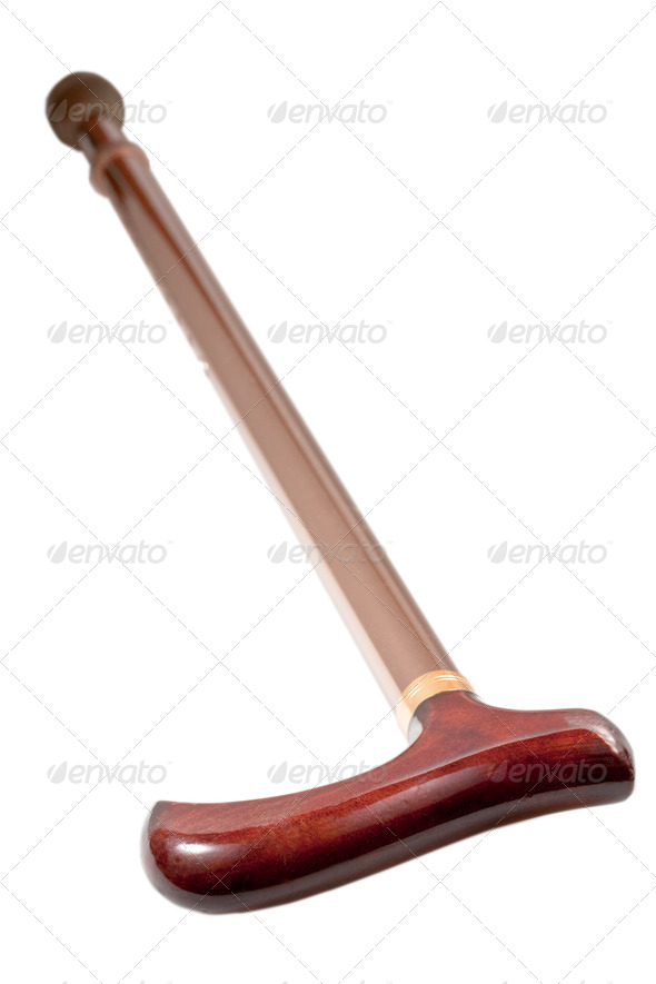 walking stick - Stock Photo - Images