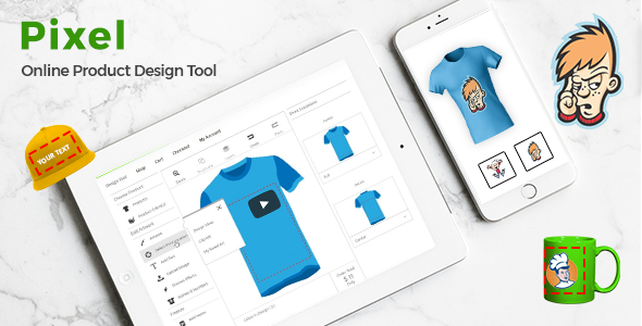 Online Product Designer - T-Shirt WordPress Plugin - CodeCanyon Item for Sale