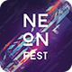Neon Fest Party Flyer - GraphicRiver Item for Sale