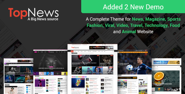 TopNews - News Magazine Newspaper Blog Viral & Buzz WordPress Theme - News / Editorial Blog / Magazine