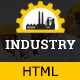 Industry - Factory & Industrial Business HTML Template Nulled