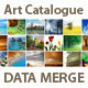 Art Catalogue Template For InDesign Data Merge - GraphicRiver Item for Sale