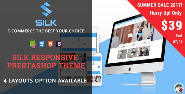 Silk - Fashion Responsive Prestashop Theme