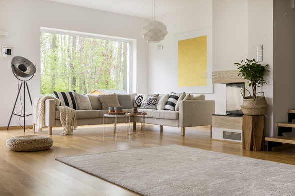 Open space in apartment - Stock Photo - Images
