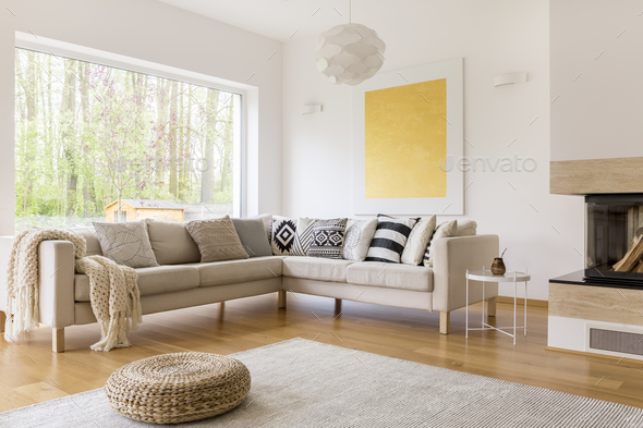 Up-to-date design of lounge - Stock Photo - Images