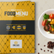 Food Menu Design Template for Fast Food / Restaurants / Cafe - GraphicRiver Item for Sale