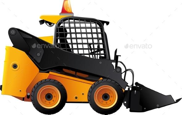 Mini Bulldozer - Industries Business