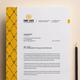 Letterhead Design Template for Fast Food / Restaurants / Cafe - GraphicRiver Item for Sale
