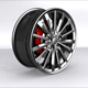 Luxury car RIM model - 3DOcean Item for Sale
